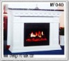 Electric fireplace for home decoration and heating