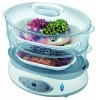 Electric food steamer  CE ,ROHS  ESC-12BB