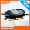 Electric raclette grill for 8 Persons(BC-1208S)
