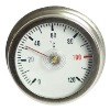Electric water heater thermometer