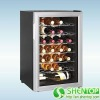 Electronic Wine Cooler /thermoelectric wine refrigerator 28 bottles
