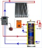 En12975 Approved split pressurized solar water heater system