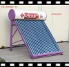 For family use homemade solar energy water heater with non-pressure / unpressure type