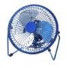 Free shipping!! 2011 Latest USB Fan 360 degree fan Mini fan three colors Metal fan B02-18-02
