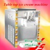 Hard ice cream machine(table top type),stainless steel shell