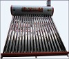 High Quality Unpressurized Color Galvanized Steel Solar Water Heater with Thermosyphon Vaccum Tubes