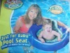 Hot Sale kids inflatable swimming ring,pvc swimming baby pool seat