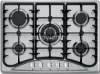 Hot selling SS top gas cooker NY-QM5025