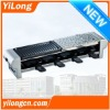 Hot selling electric grill with Half Stone Plate and Half Pan BC-1008HS