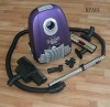 Household bagged canister dry vacuum cleaner