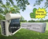 Hybrid Vacuum Tube Solar Wall Mounted Air Conditioner System