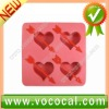 Ice Cube Tray Container, Heart Shaped
