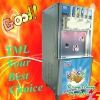 Ice cream tool with five tastes,(three and two mixed flavor)