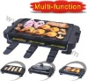 Indoor grill for with raclette function (XJ-9K114)