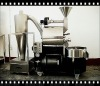 Industrial coffee bean roaster with 2 kg batch capacity