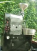 Industrial coffee roaster machine with 5 kg batch capacity