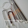 Infrared carbon fiber heating lamp