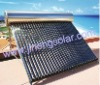 Integrated pressured solar water heating system