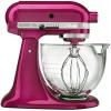 KitchenAid Artisan Design Series Raspberry Ice Stand Mixer - KSM155GBRI