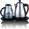 LG130 2.0L hot sale stainless steel electric kettle set/tea maker with CB CE EMC ROHS approvals