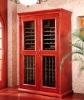 Luxury style wooden wine cooler
