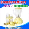 Multi-function Juice Blender & Mixer blender assembly