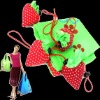 New Strawberry Foldable Reusable Shopping Bags