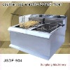 New style electric chicken pressure fryer DF-904 counter top electric 2 tank fryer(2 basket)