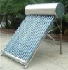 Non-pressure solar water heater for project