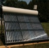 Non-pressurized Vacuum Tube Solar Water Heater with assistant tank
