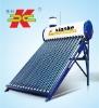 Open loop low pressure solar hot water for bath room
