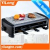 Party Raclette Grill with stone plate