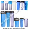 Plastic Water Filter Housing Slim Fat Big Blue