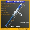 Plastic drinking water pump rechargeable