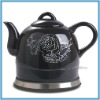 Porcelain Electric Teapot Healthy Chinese Classical Shape