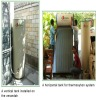 Pressurized efficiently of vacuum tube solar water heater(80L)