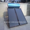 Pressurized flat panel solar water heater