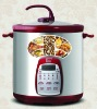Programmable purple clay stew cooker