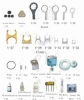 RO Parts! Flashing, Wrench, Clamp, PE Tube, Water tester, Electrolysis, TDS Meter,etc.