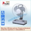 Rechargeable emergency 12 Inch electric fan