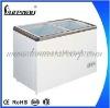 SD-215 215L Glass Sliding Door Commercial Freezer for Middle East