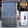 Separate pressure solar heater with copper coil 023A