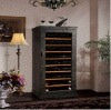 Shentop Leather art wine cooler/costant wine cellar /wine cabinet STH-YP80
