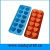 Silicone Ice Tray in Heart Shape