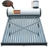 Solar stock tank water heater