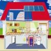 Split Pressure Solar Energy Water Heater