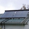 Split Solar energy water collector