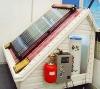 Split pressure solar water heaters