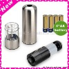Stainless Steel Electric Salt and Pepper Mills