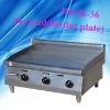 Stainless steel counter top gas griddle, JSGH-36